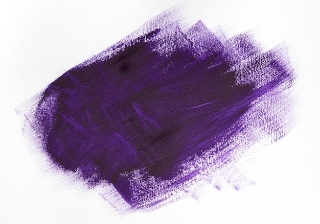 Purple paint brush stroke effect