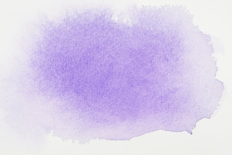 Purple paints on white sheet