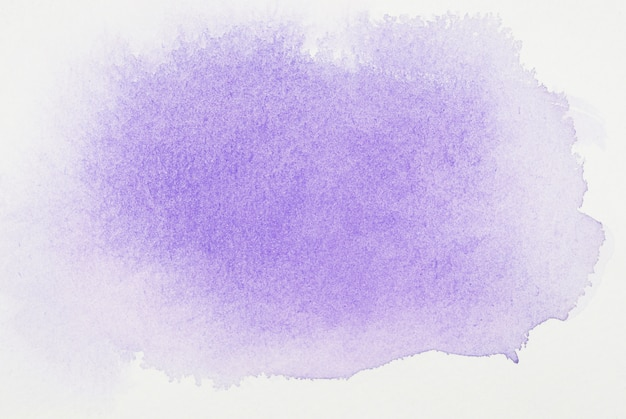 Purple paints on white sheet