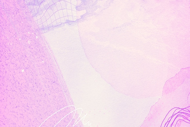 Purple and pink watercolor style background design