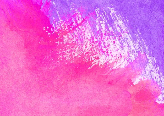Purple and pink watercolor texture