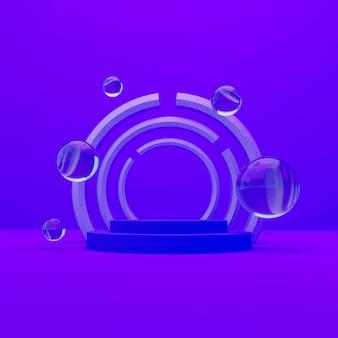 Фиолетовый подиум