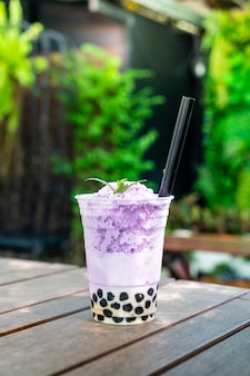 Фиолетовый картофель чай с пузырем