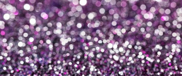 Glitter riflettenti viola
