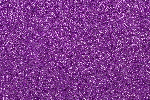 紫のキラキラ生地の質感