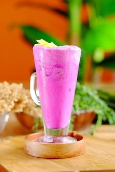 Фиолетовый сладкий картофельный сок