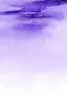 보라색 수채화 배경, 라벤더 디지털 종이, 수채화 질감