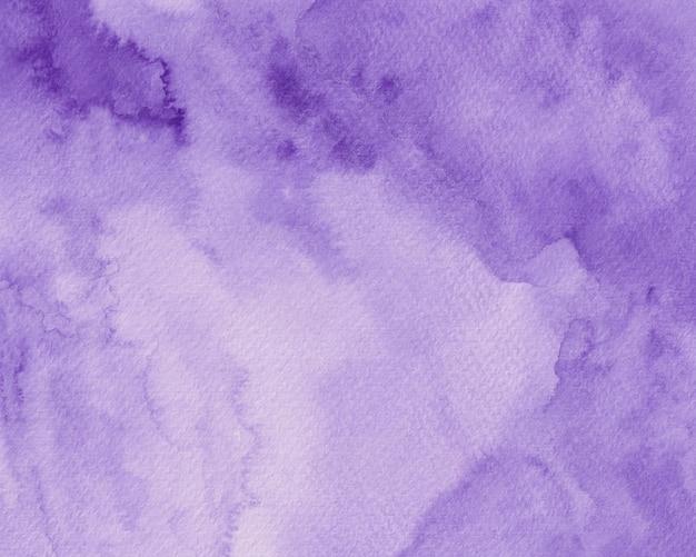 紫の水彩背景テクスチャ、バイオレットデジタルペーパー水彩