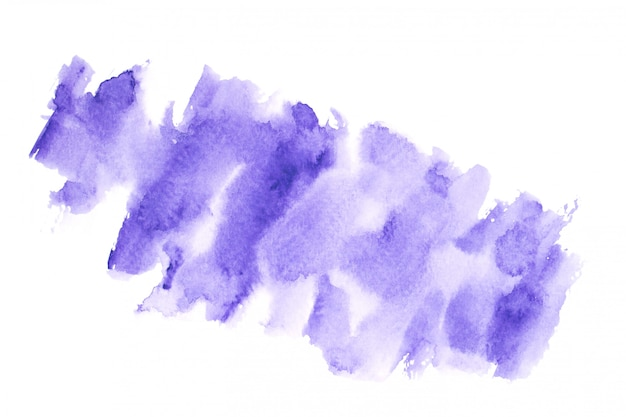 Purple watercolor with colorful shades paint stroke background
