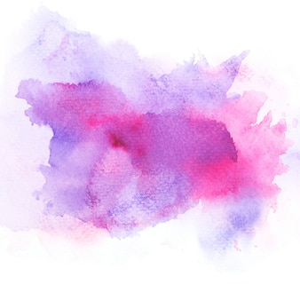 Purple watercolor.