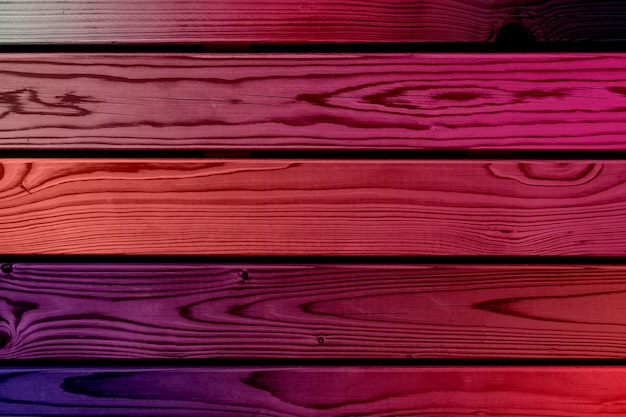 Purple wooden wall with horizontal planks. high quality photo