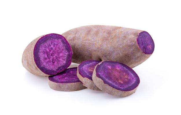 分離に紫のヤムイモ