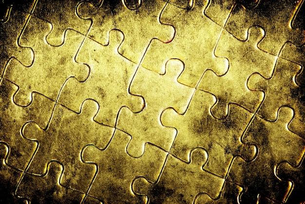 배경 퍼즐. 비즈니스 개념