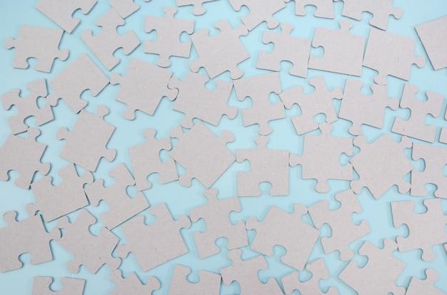Пазлы для выполнения задачи бизнес-стратегия командная работа концепция решения проблем