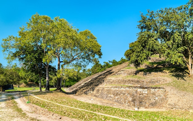 Pyramid at the el tajin archeological site, unesco world heritage in mexico