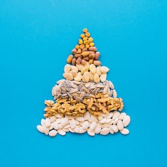 Pyramid of nuts