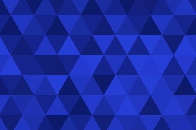 Пирамида с рисунком синий геометрический фон