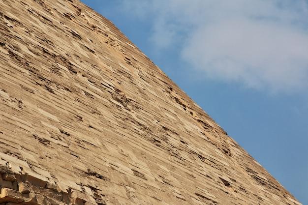 Pyramids in dahshur, sahara desert, egypt