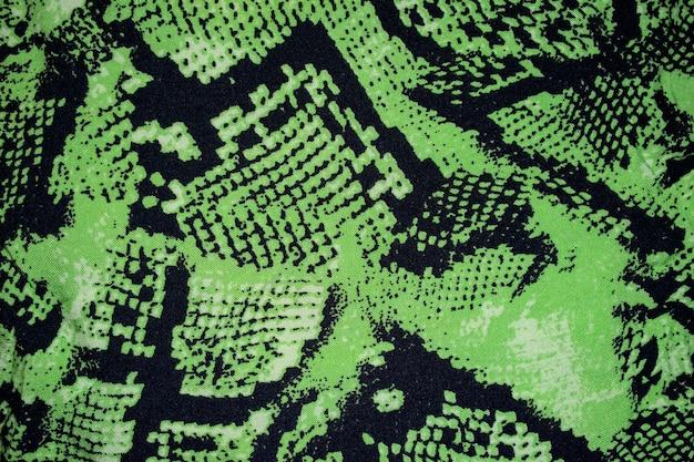 Текстура холста с принтом змеи питона или фон