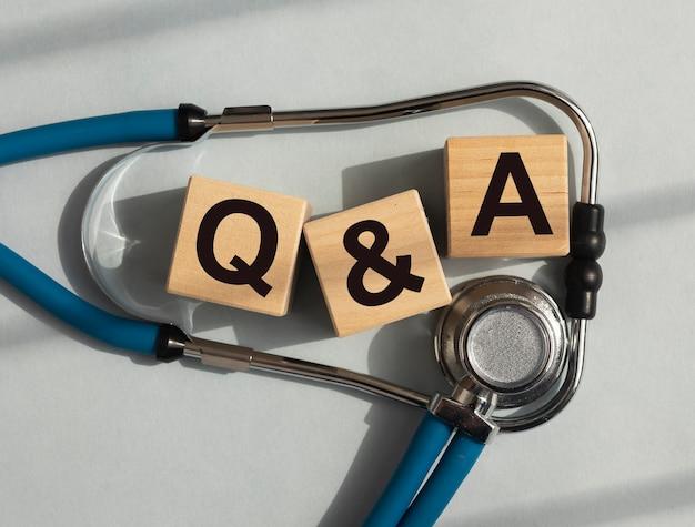 Q и аббревиатура на блоках вопрос о концепции медицинского обслуживания в больницах qna