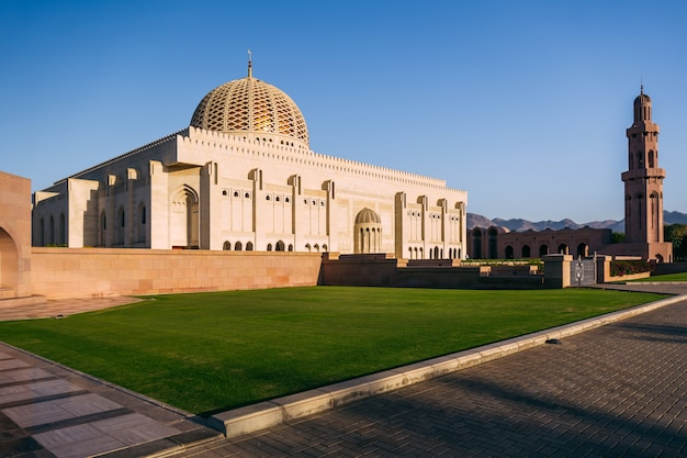 Qaboos mosque in muscat, oman
