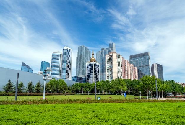 Qingdao cityscape, china