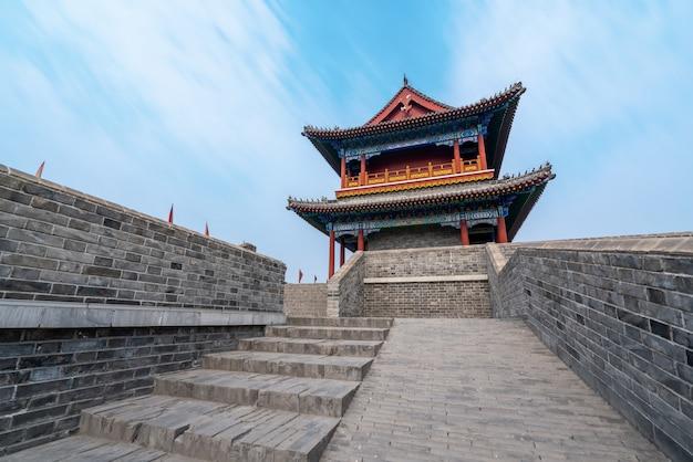 Qingzhou ancient city, shandong province, china