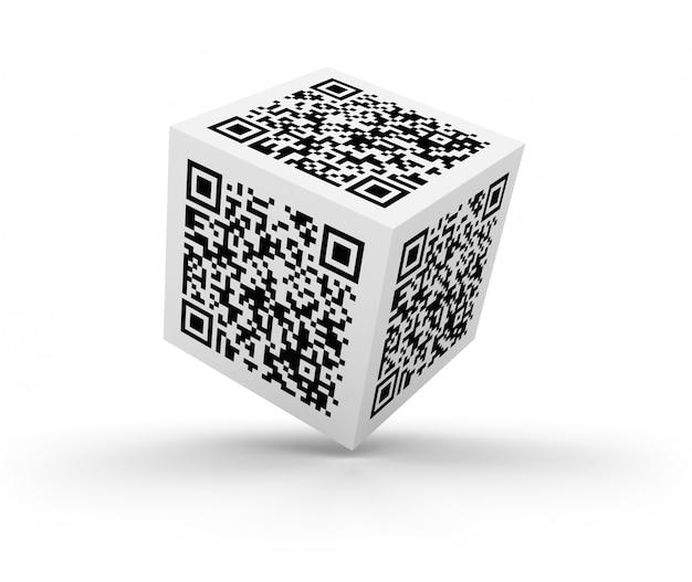 Qr code cube