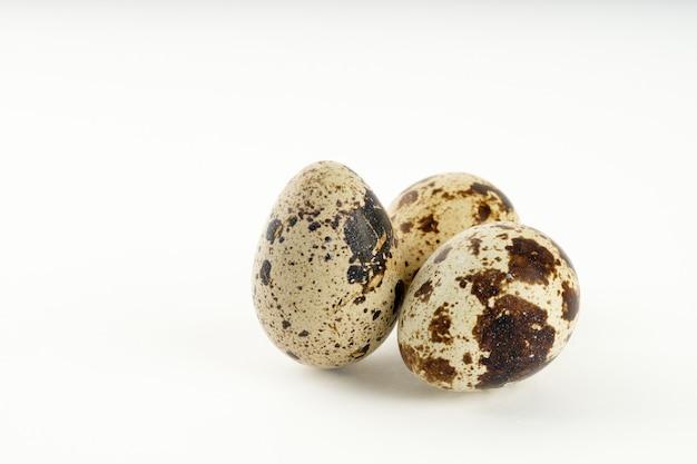 Quail egg isolated