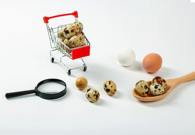 메추라기 또는 닭고기 달걀 : 장단점, 선택해야 할 것.