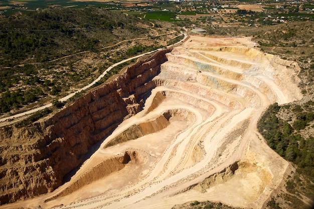 Quarry in riba-roja del turia in valencia