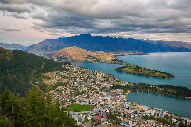 Queenstown, south island new zealand