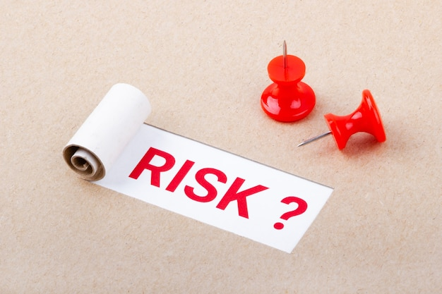 Question about risk on torn paper.