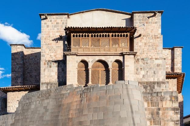ペルーのクスコのqurikancha寺院