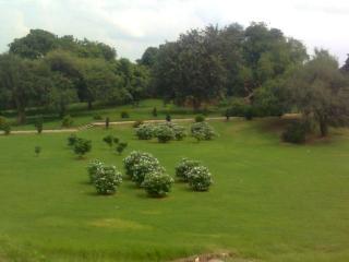 Qutub minar garden