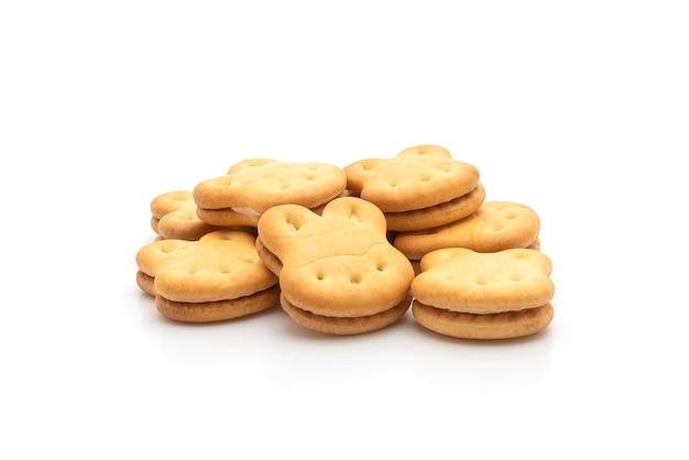 クリーム入りうさぎクッキー