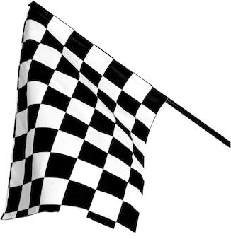 Racing flag - isolated