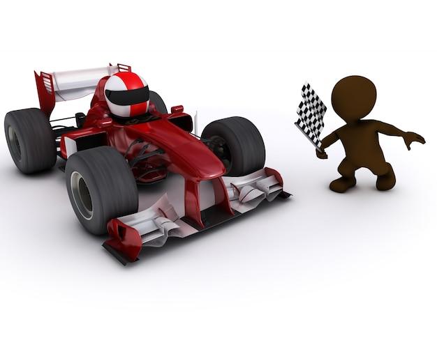 Racing man