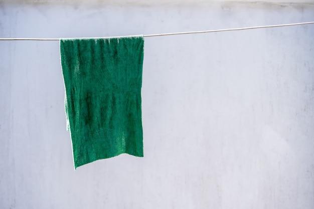 Rag on the clothesline