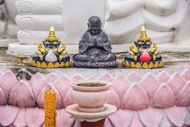 Rahu and black buddha image