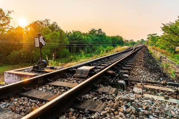 Railroad and railway train transportation