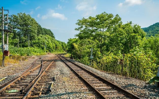 Railway track view