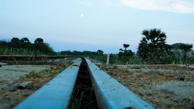 분배기와 철도 트랙