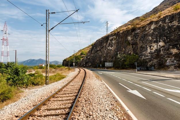 Railway and track