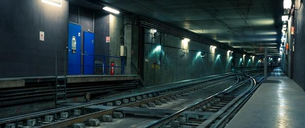 フランス、リヨン市の鉄道トンネル