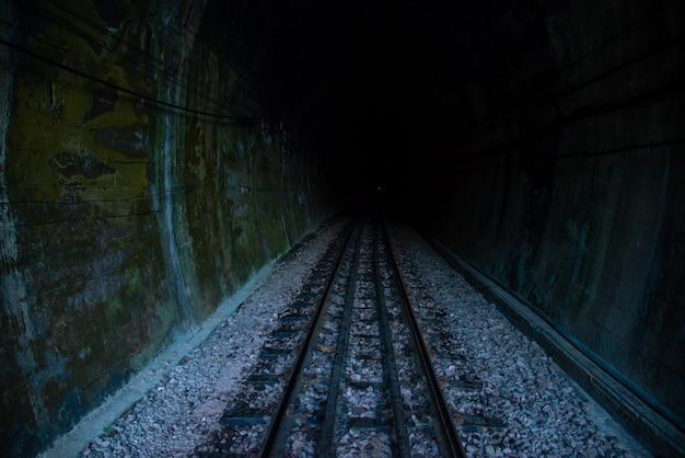 Railway tunnel khun tan train tunnel thailand