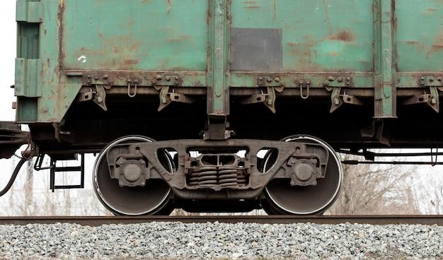 Railway wagon wheels