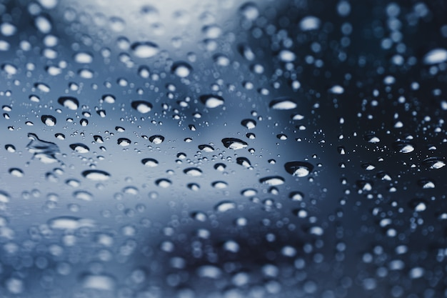 Rain drops  water drop in rainy season background