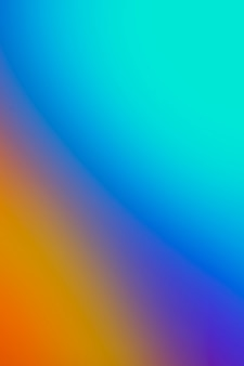 Rainbow gradient of colors