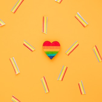紙の虹と虹の心